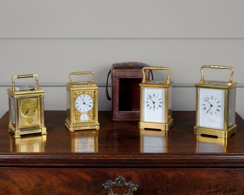Selection of Fine French Carriage Clocks