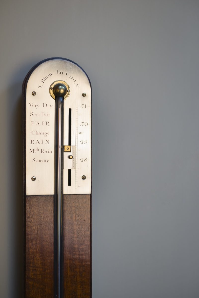 Thomas Blunt London Antique Stick Barometer C1805