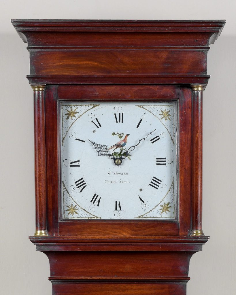 Longcase clock made by William Hooker