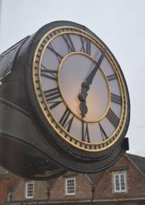 outside clocks