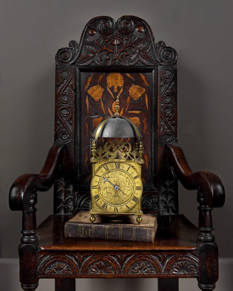 Charles II Lantern clock Edward Stanton