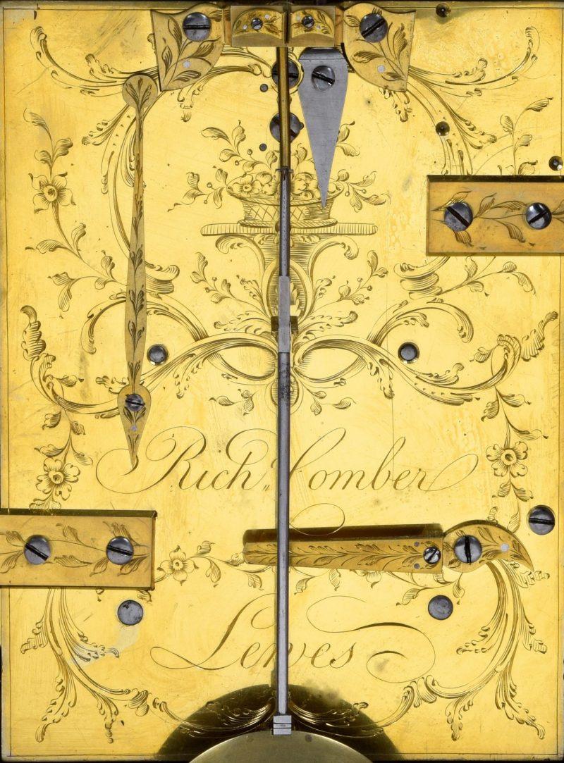 Richard Comber Bracket Clock Ca 1780