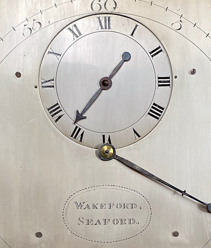 Wakeford of Seaford, Ca 1795. Rare 30 hour Regulator.