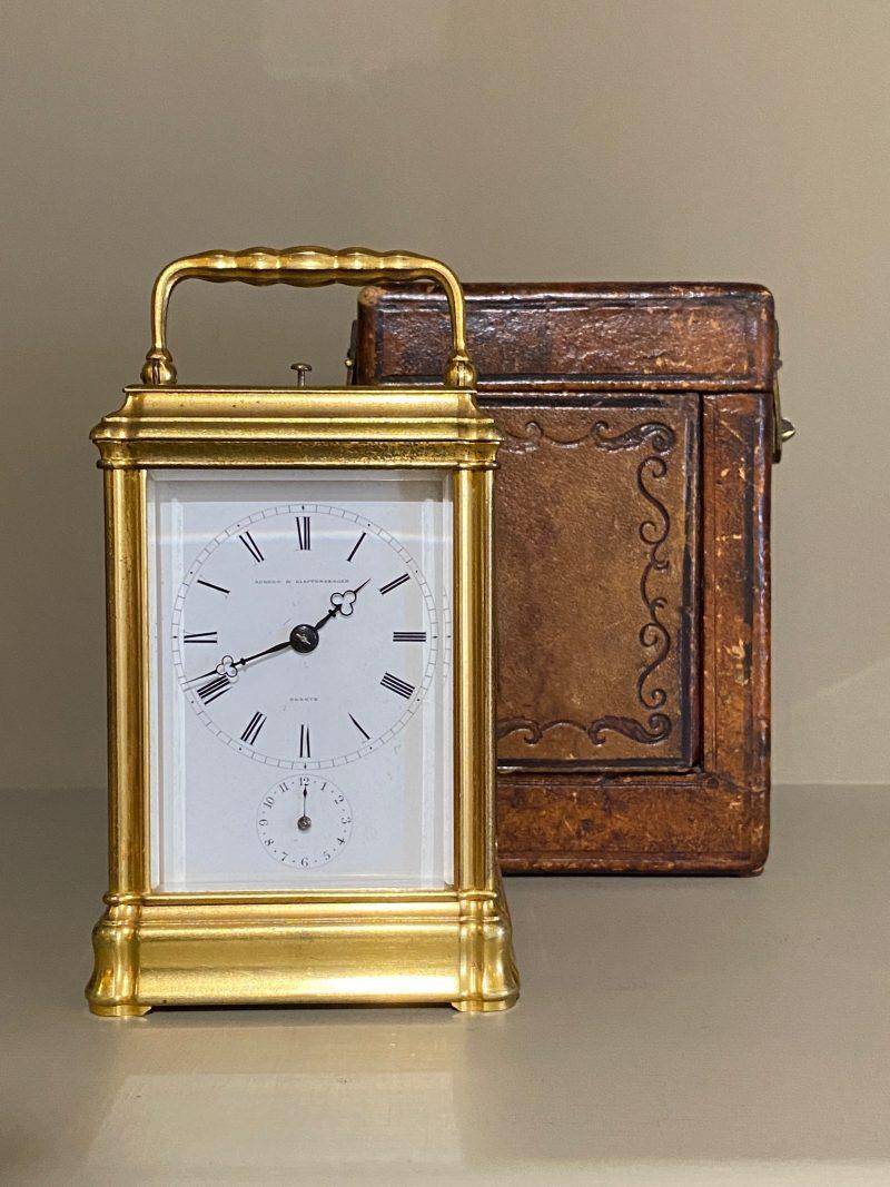 Aubert & Klaftenburger Geneva, Repeating Carriage Clock.