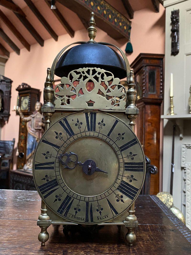 Thomas Muddle of Rotherfield, Ca 1705. Lantern Clock.