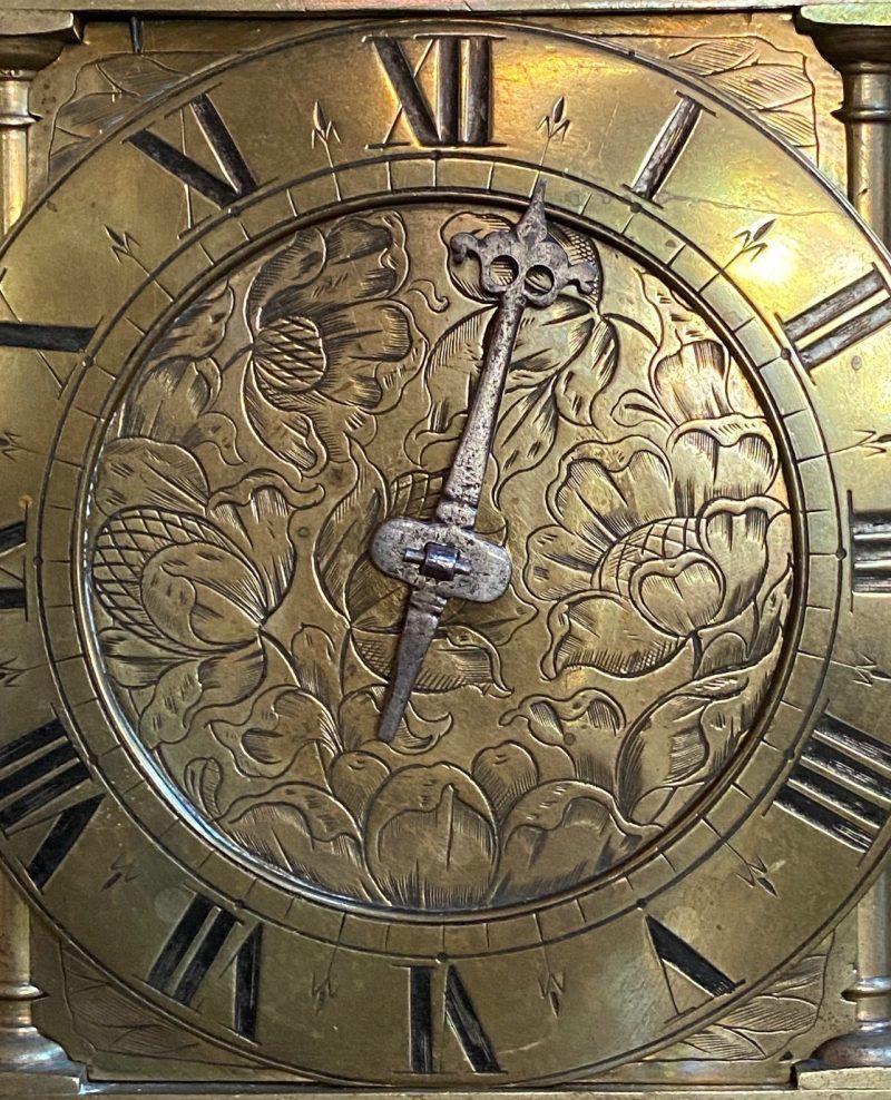 Second Period Lantern Clock.