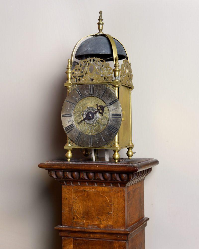 William Dent Lantern Clock, Ca 1685.
