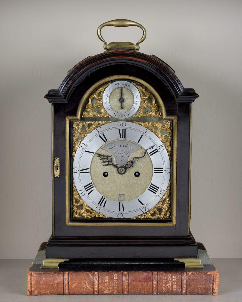 John Sleightholm, Verge Bracket Clock  Ca 1780.