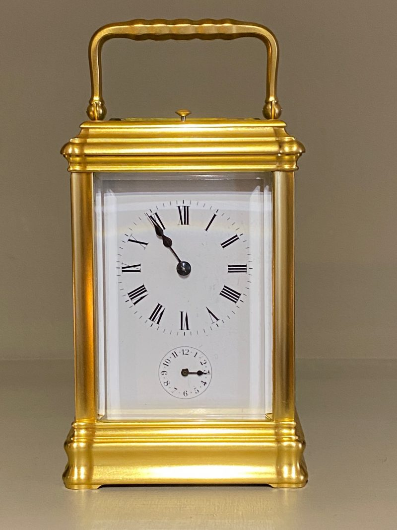 Petite Sonnerie Carriage Clock, Ca 1880.