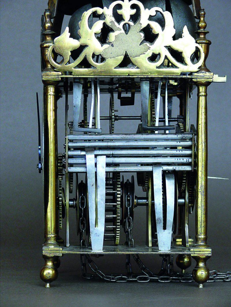 Rare Quarter Striking  Lantern clock by John Shaw, Ca 1695.